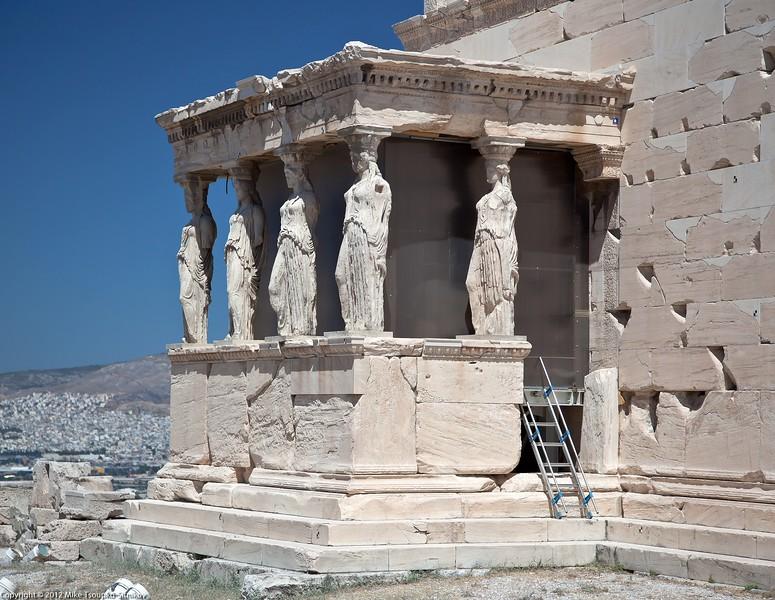 Acropolis - the Erechtheion
