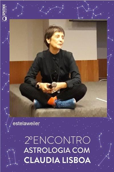 2º Encontro de Astrologia com Claudia Lisboa