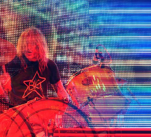 Kliph Scurlock, Flaming Lips Freakout 5. Night 2. January 1, 2012. Oklahoma City, Oklahoma.