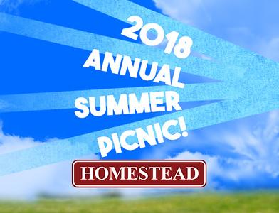 Homestead Annual Picnic 2018