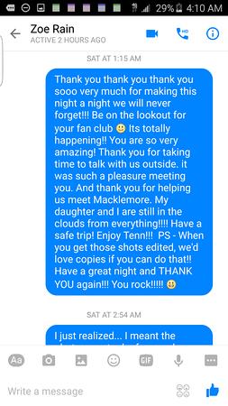 Macklemore Ryan Lewis The Fox Jan 29 2016