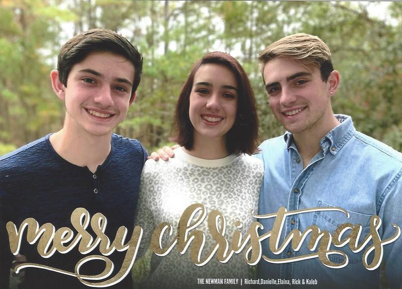 Caleb, Elaina and Rick