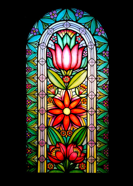Anna's Large Stained Glass Window (Oil Painting).jpg