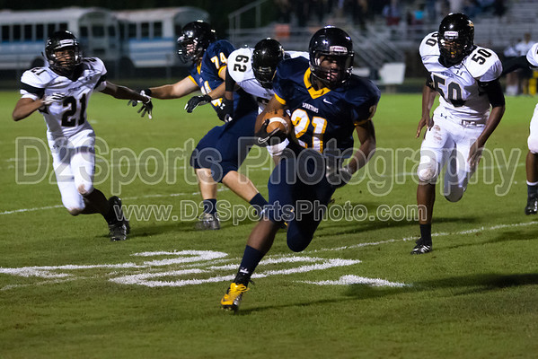 Mt Tabor Spartans vs RJR Demons Varsity Football 10/5/2012