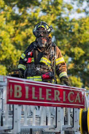 Billerica, MA 2nd Alarm - 845 Boston Rd - 8/28/16