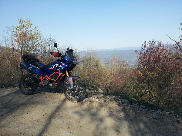 First Ride at Taskers Gap