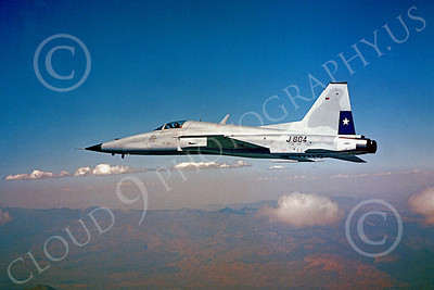 Flying Chilean Air Force Northrop F-5 Freedom Fighter Airplane Pictures