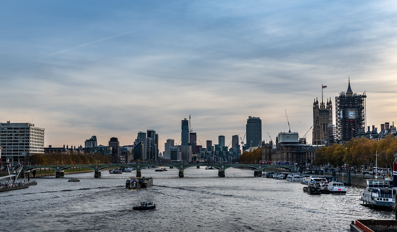 The busy Thames