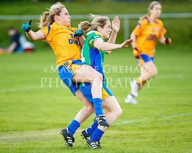 Na Fianna Snr Ladies Footballers vs Clanna Gael Fontenoy 210514