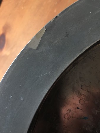 Woodworking Wonders - defect 1200 grit wheel