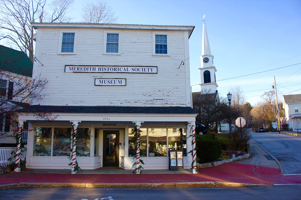 the Meredith Historical Society in Meredith, New Hampshire