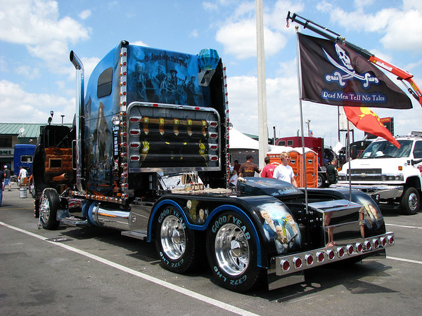 Big Rigs of the Open Road