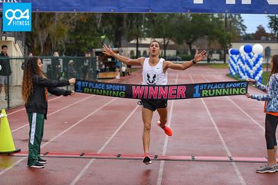 Ameris Bank Jacksonville Half and Full Marathon Finish 2018