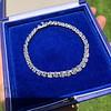 9.50ctw Round Brilliant Diamond Tennis Bracelet 23