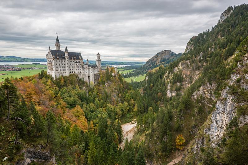 Neuschwanstein Castle in Hochenschwangau, Germany