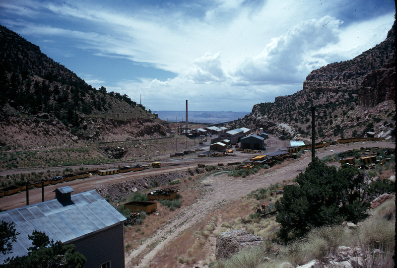 Geneva mine surface buildings. (Don Butler Photo)