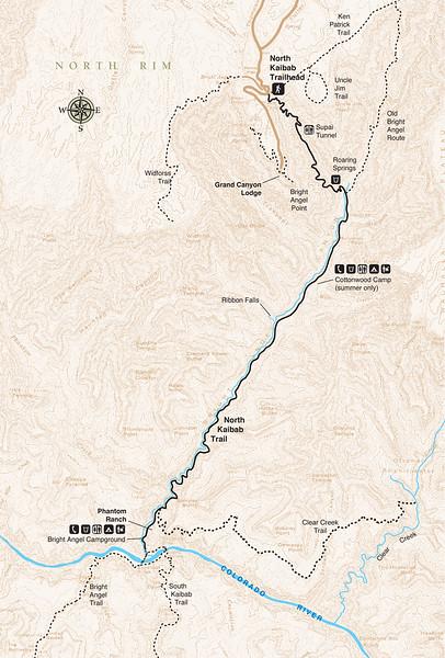 Grand Canyon National Park (North Kaibab Trail)