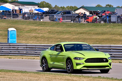2020 SCCA July 29 Pitt Race Interm Lt Green Mustang