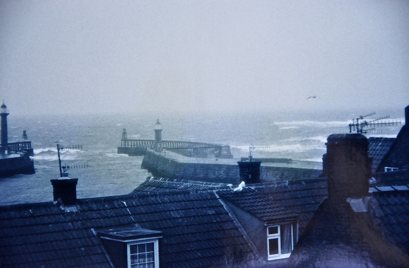 Stormy day in Whitby