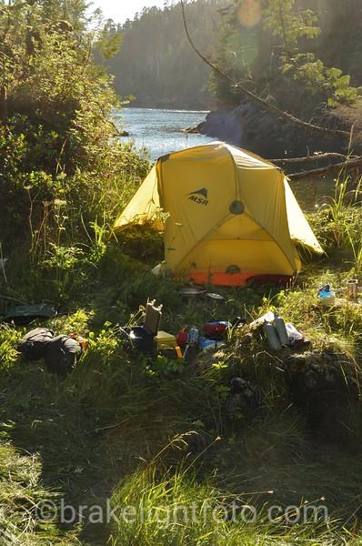 Campsite in Kitasu Bay