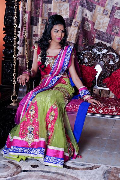 Sathya makeup