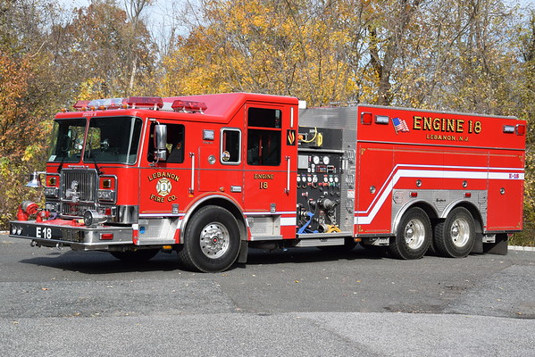 Hunterdon County Fire Apparatus
