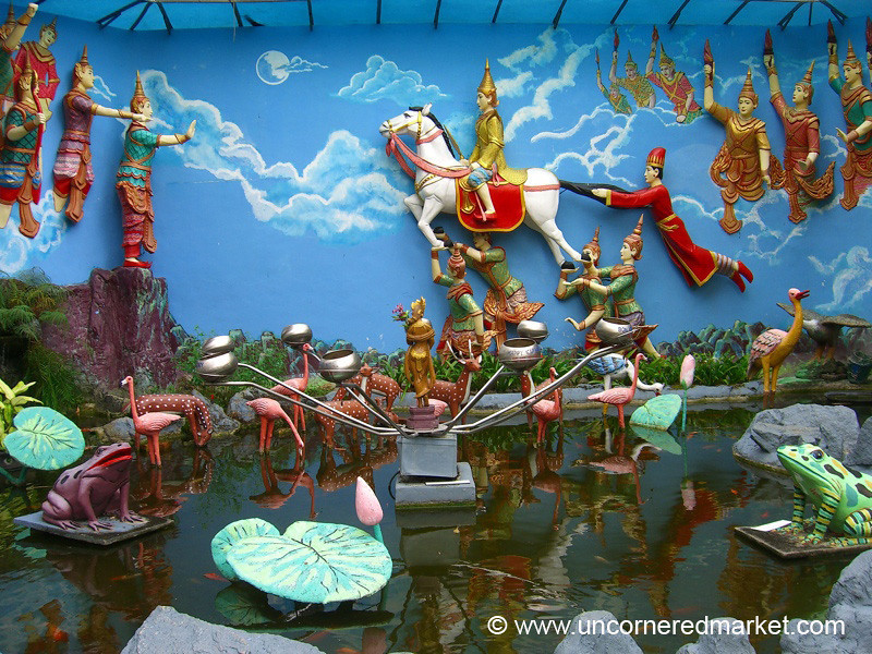 Burmese Buddhist Temple - Penang, Malaysia