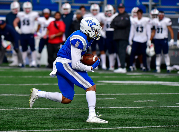11/17/2018 Mike Orazzi | Staff CCSU's Jose Garcia (6) against Duquesne at Arute Field in New Britain Saturday afternoon.