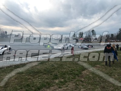 3-10-18 Tri-County Motor Speedway CARS Tour Kim & Langley