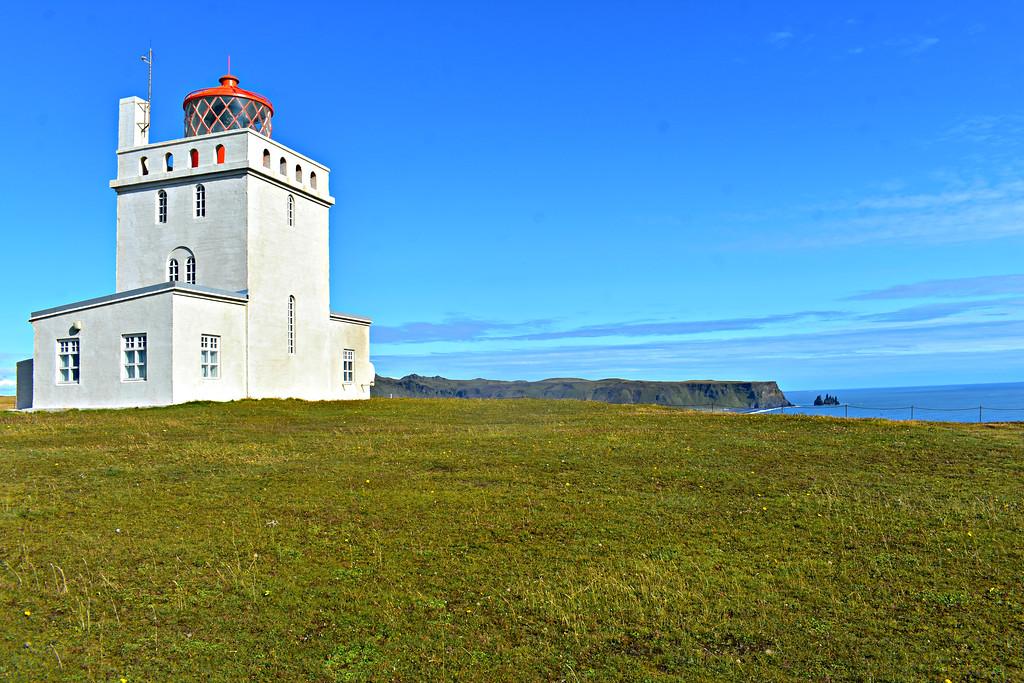 Lighthouse on Dyrhólaey, South Coast Iceland