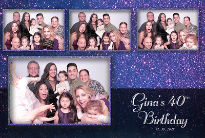 Gina  40th Birthday Bash