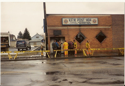 Dearborn Fire Department Stock Photos
