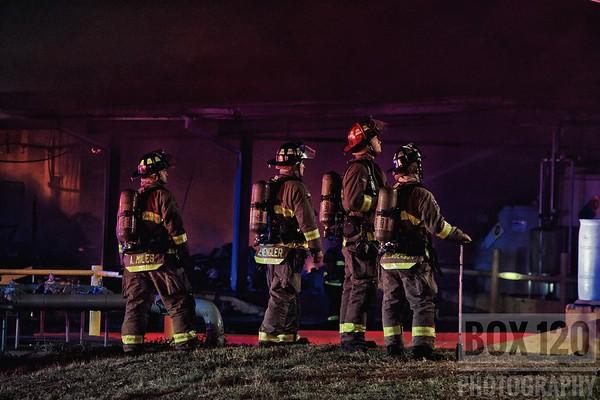 Warehouse Fire - 400 Roosevelt Ave, San Antonio, TX - 8/5/17