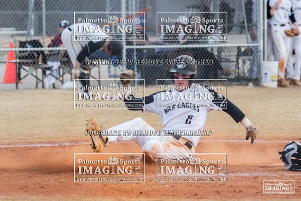 Gray Collegiate Varsity Baseball vs Calhoun County