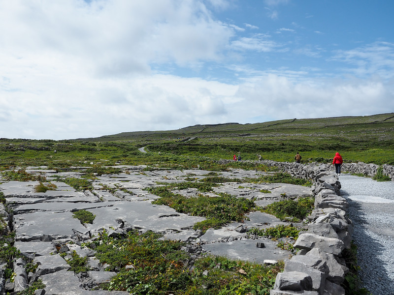 Glacial groves on Inis Mor