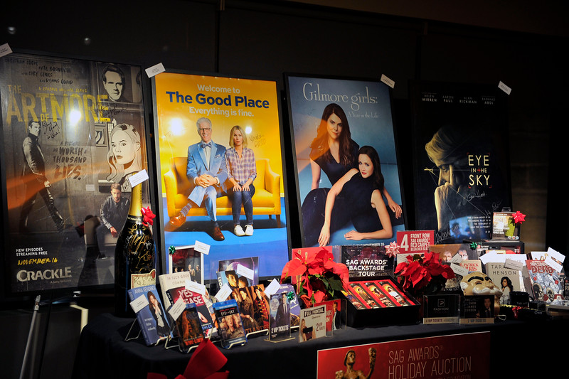 23RD ANNUAL SCREEN ACTORS GUILD AWARDS NOMINATIONS ANNOUNCEMENT & HOLIDAY AUCTION DISPLAY AT THE PACIFIC DESIGN CENTER ON DECEMBER 14, 2016. PHOTOS BY VALERIE GOODLOE