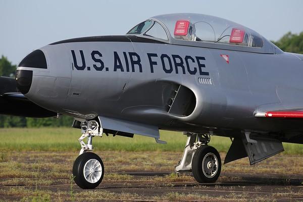 """1951 Lockheed T-33A """"Shooting Star"""", Tullahoma, 08May19"""