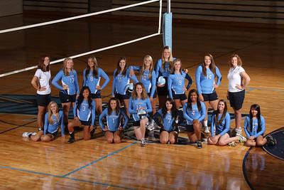 Volleyball Team & Individual  Photos