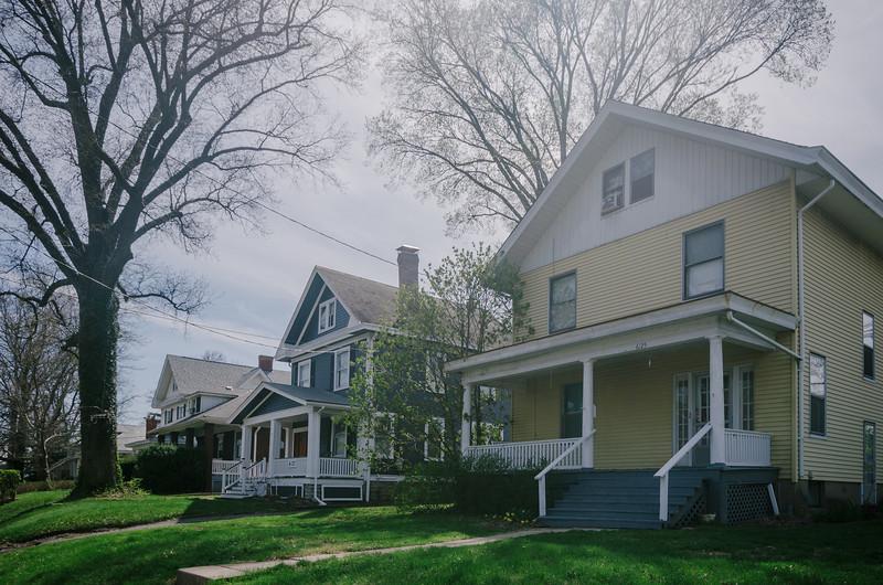 Homes in Pleasant Ridge, Cincinnati.