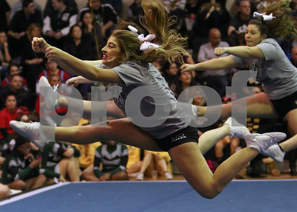 Montville Cheerleading Competition