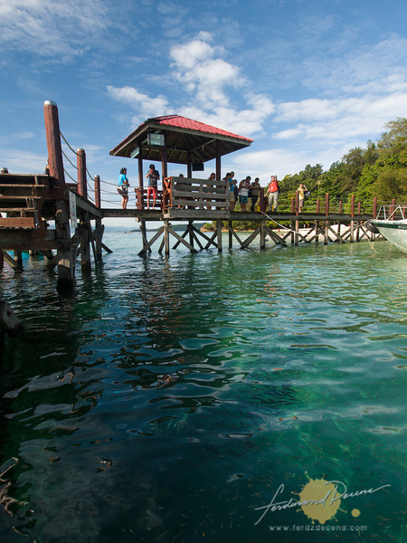 The Palaue Sapi jetty