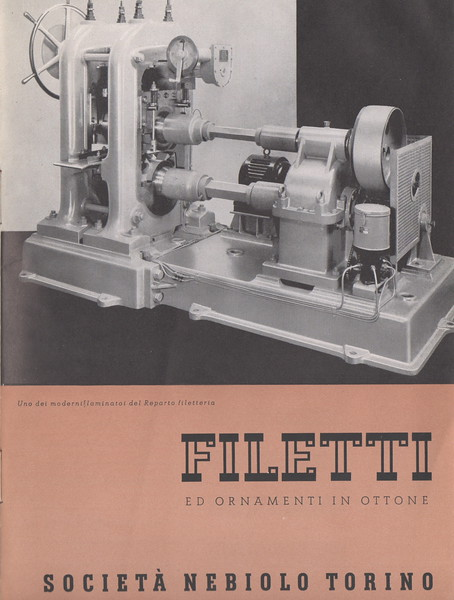 In addition to presses and types, Nebiolo was also able to provide printers with the whole series of complementary equipment, including rules, ornaments, boxes and counters of different shapes and sizes, built in the dedicated carpentry unit.