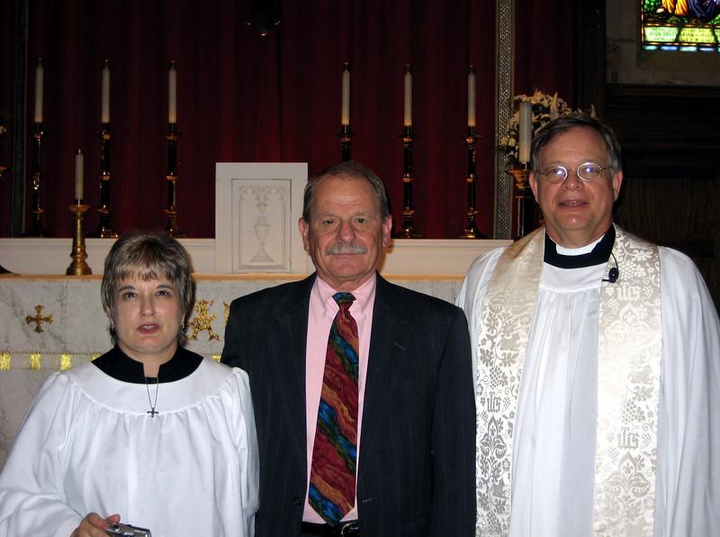 Trish Matthews and Dennis Williamson 2007.JPG