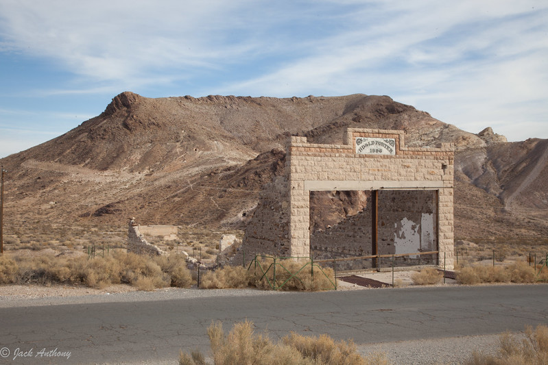 Ghost town in Death Valley