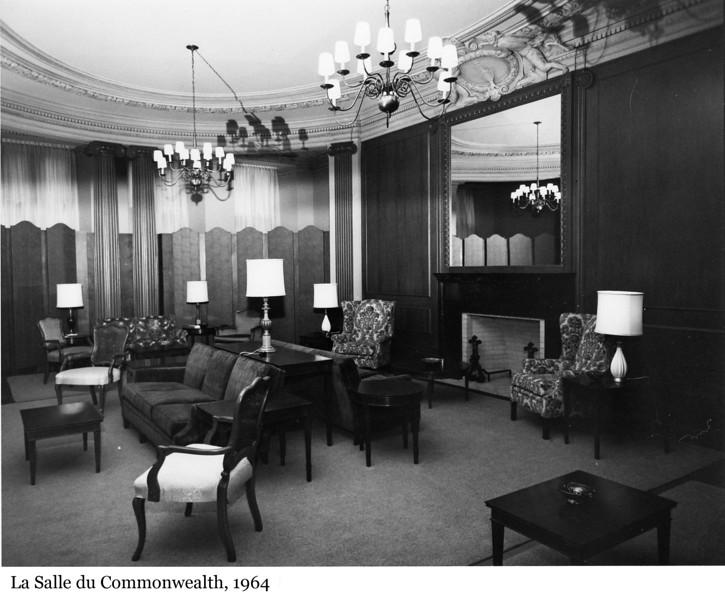 The Commonwealth Room - La Salle du Commonwealth, 1964