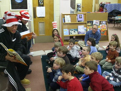 April 13 - Dr. Seuss Reading