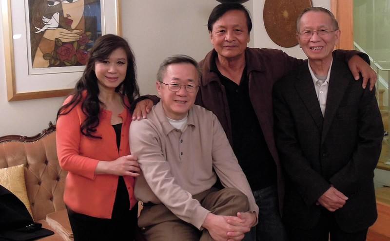 Chử Nhất Anh, Chử Nhị Anh,Thầy Nguyễn Quang Tuyến, Thầy Trần Đại Bản