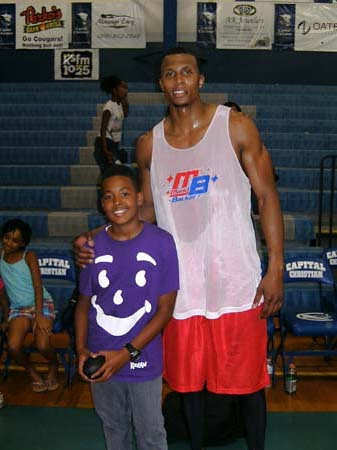 7th annual Maddbacker Celebrity Basketball Game hosted by Adrian Ross