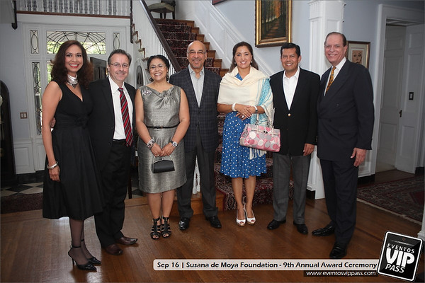 Susana de Moya Foundation - 9th Annual Award Ceremony | Sun, Sep 16