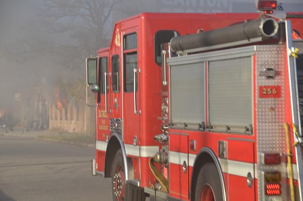 Detroit Box Alarm, 11630 Cloverdale. 10-27-12
